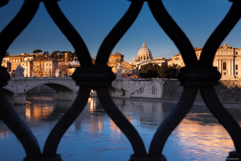 Alba sulla Basilica di San Pietro