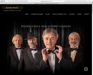 Website Gourmet-Jazzband