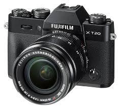 Las mejores cámaras para viajar fujifilm x-t20