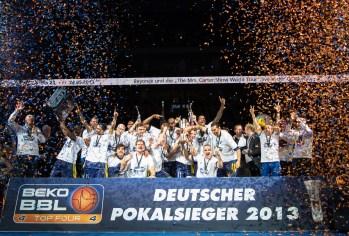Beko BBL TOP FOUR , Finale, ratiopharm Ulm vs. ALBA Berlin , Berlin, DEU, 2013,