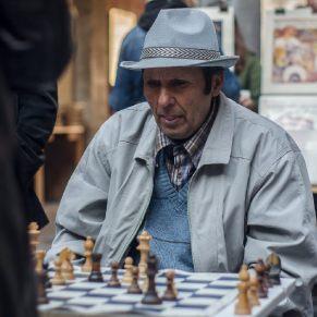 Schachspieler, Lille 2013