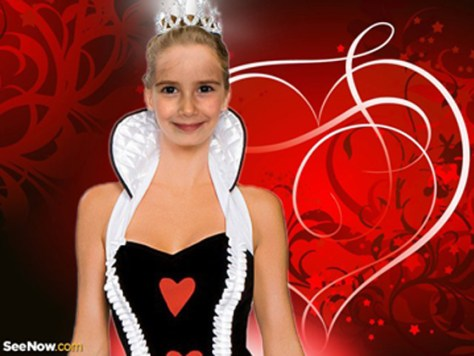 Fotomontaje Miss princesa infantil