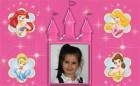 Princesas Disney. Marcos y Frames infantiles.