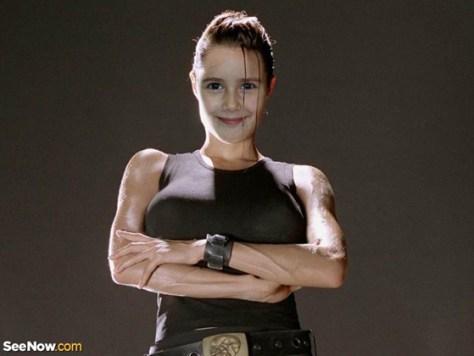 Fotomontaje de Angelina Jolie