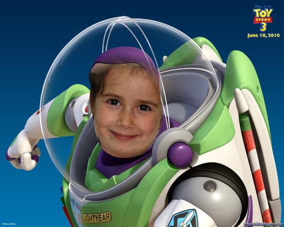 Fotoefecto Buzz Lightyear Cuenta Tu Toy Story