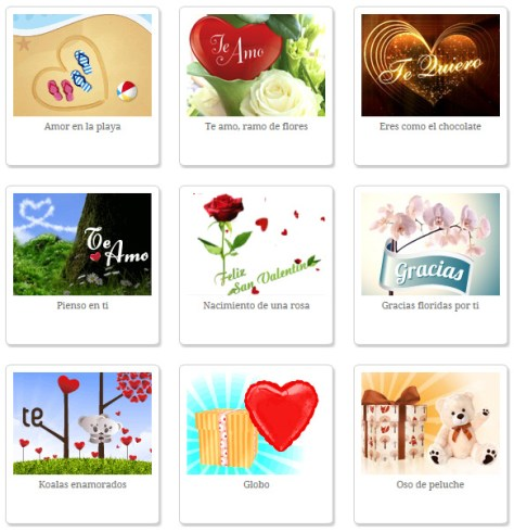 tarjetas de felicitación online