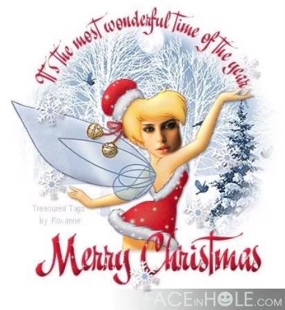 Fotomontajes navideños con Campanilla