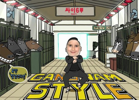 Fotomontaje Gangnam style gratis