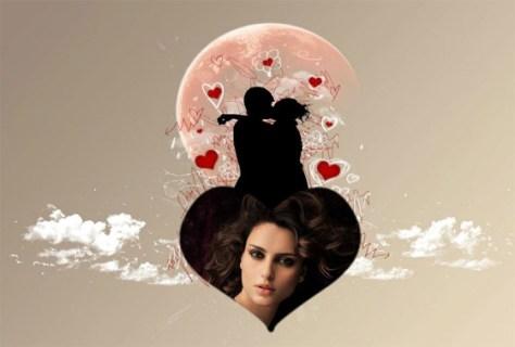 Fotoefectos online de Amor.
