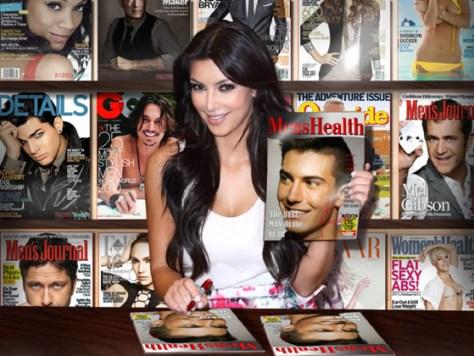 Montaje Fotográfico con Kim Kardashian.