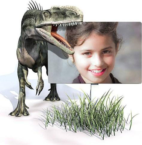 Marcos Infantiles con Dinosaurios.