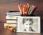 Montajes de Fotos Material Escolar.