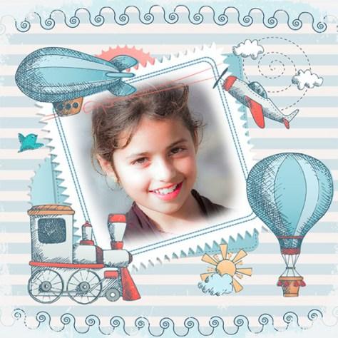 Montajes de Fotos de Sellos para Niños.