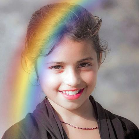 Efectos Arco Iris para Fotografías.
