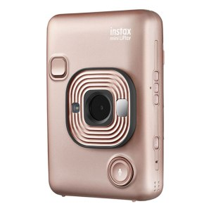 FUJIFILM INSTAX Mini LiPlay Hybrid Instant Camera {Blush Gold}