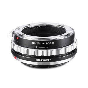 K&F M18194 Nikon G Lenses to Canon EOS R Lens Mount Adapter