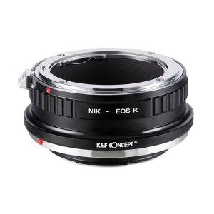 K&F M11194 Nikon F Lenses to Canon EOS R Lens Mount Adapter