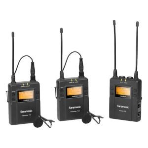 Saramonic UHF 2-Person Wireless Microphone System UwMic9 Kit2