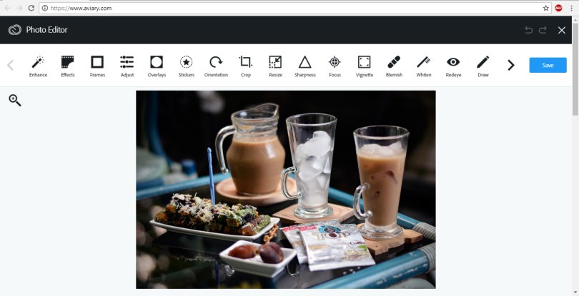 Aviary Online Image Editor