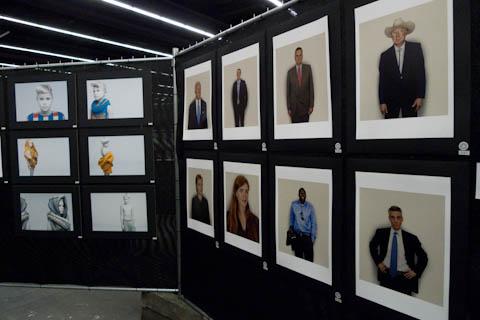 Erkennt man auch ohne Namen: Nadav Kanders Serie über Obamas Leute