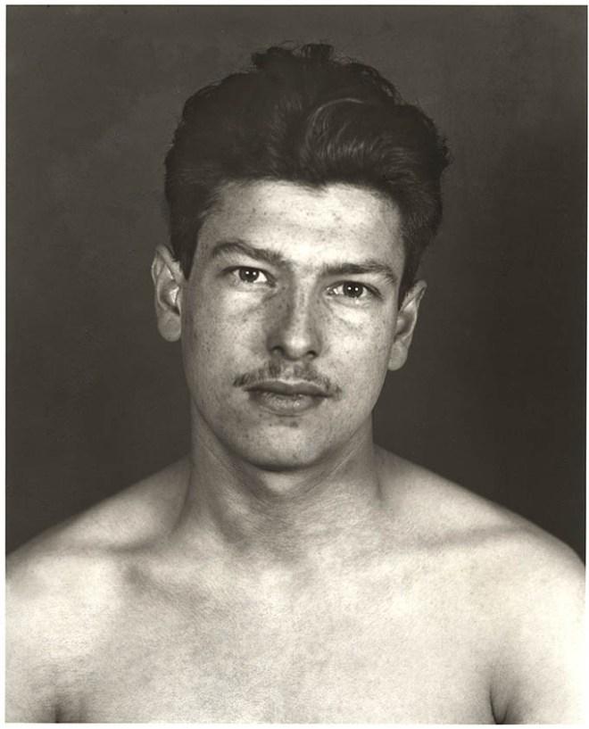 Porträt eines Mannes von Erich Sander