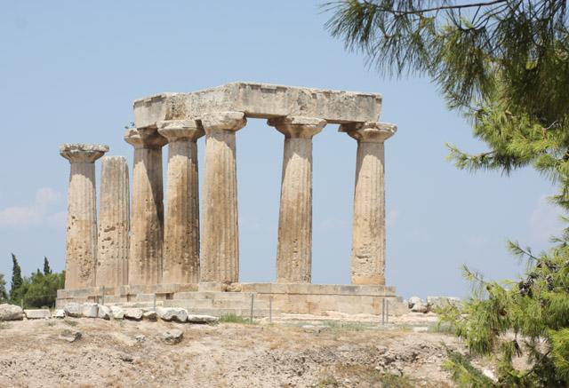 Świątynia Apollina, 570-560 BC