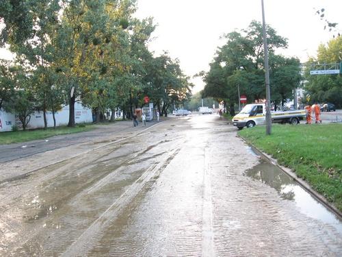 Awaria i wypadek na Zaporoskiej (II)