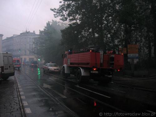 Pożar na Dąbrowskiego (III)