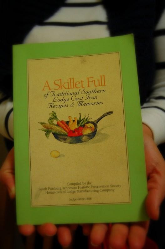 a skillet full cookbook
