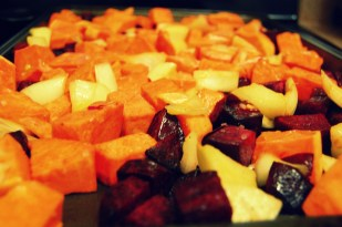add sweet potatoes to beets