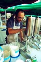 filling churros