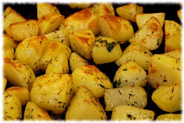 Upieczone ziemniaki