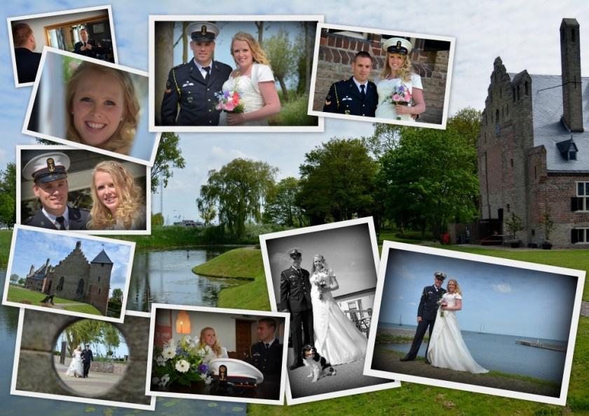 Goedkope Fotograaf Collage van een bruiloft
