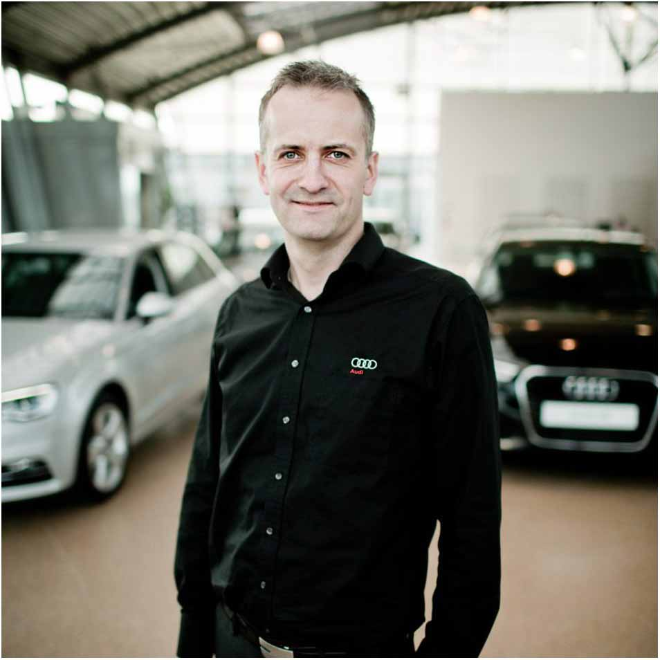 profilfoto hos Audi Helsingør