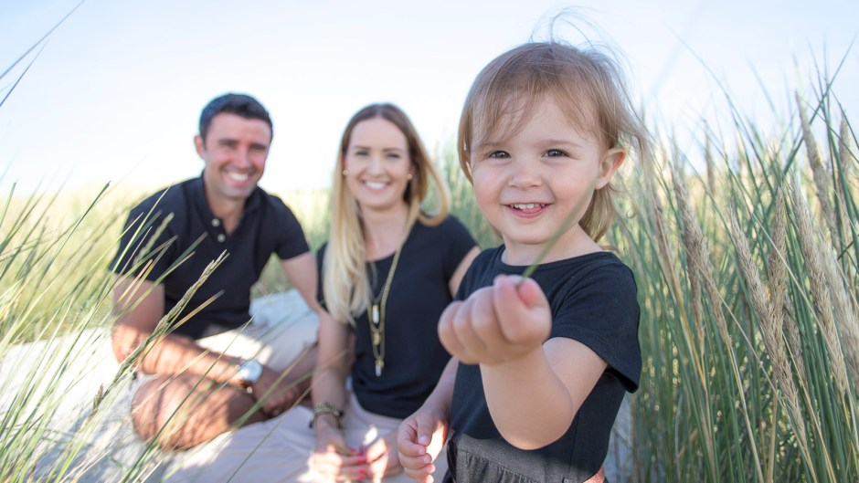 Familien Fotoshooting am Strand in St Peter