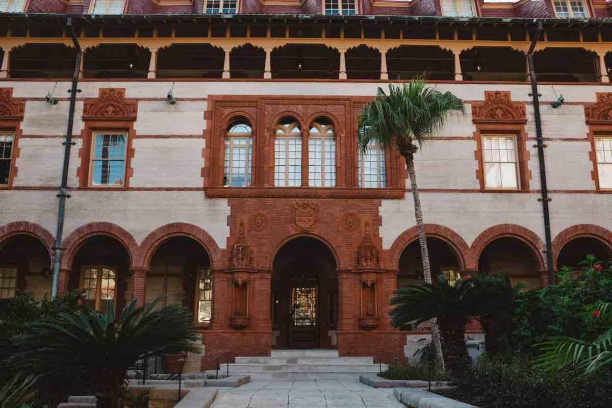 Ponce de Leon St Augustine Hotel wedding