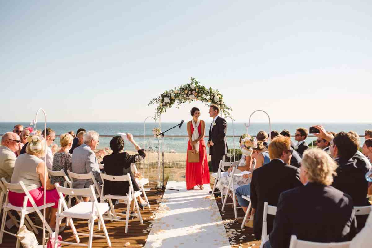 Beach wedding Algarve