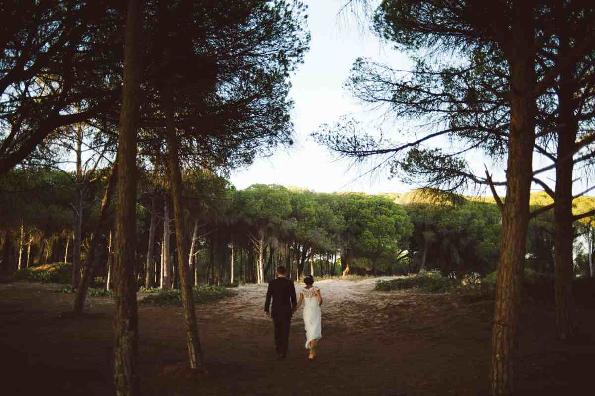 outdoor wedding Algarve