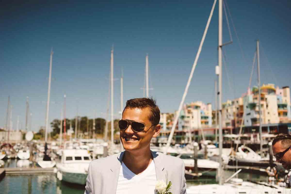 Secret beach wedding Portugal 020