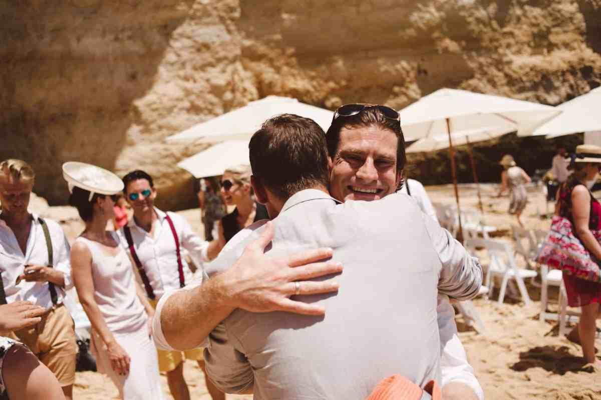 Secret beach wedding Portugal 056