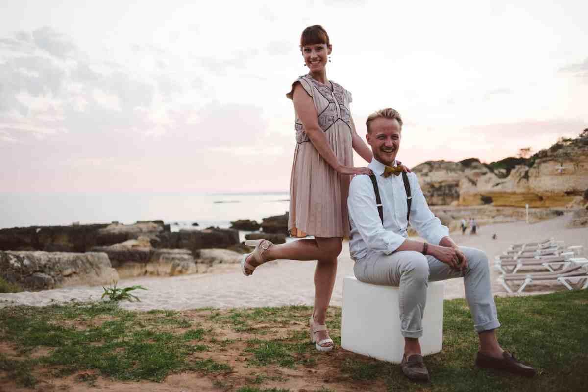 Secret beach wedding Portugal 093