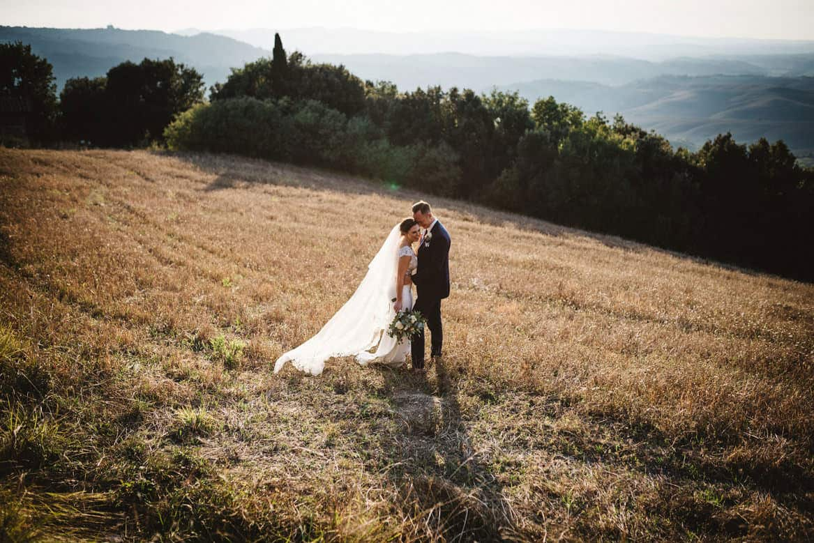 the gorgeous views of villa di ulignano wedding