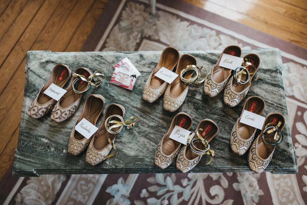 dancing shoes as guest party favours