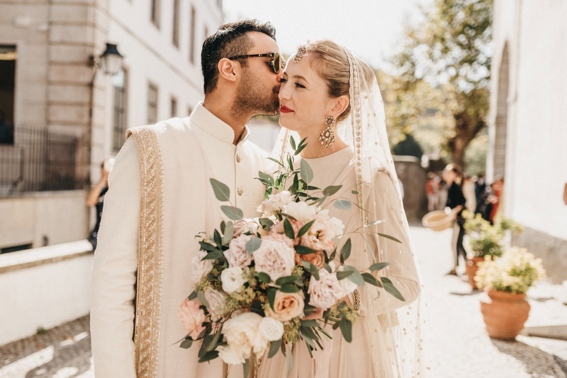 Polish and indian wedding in Sintra
