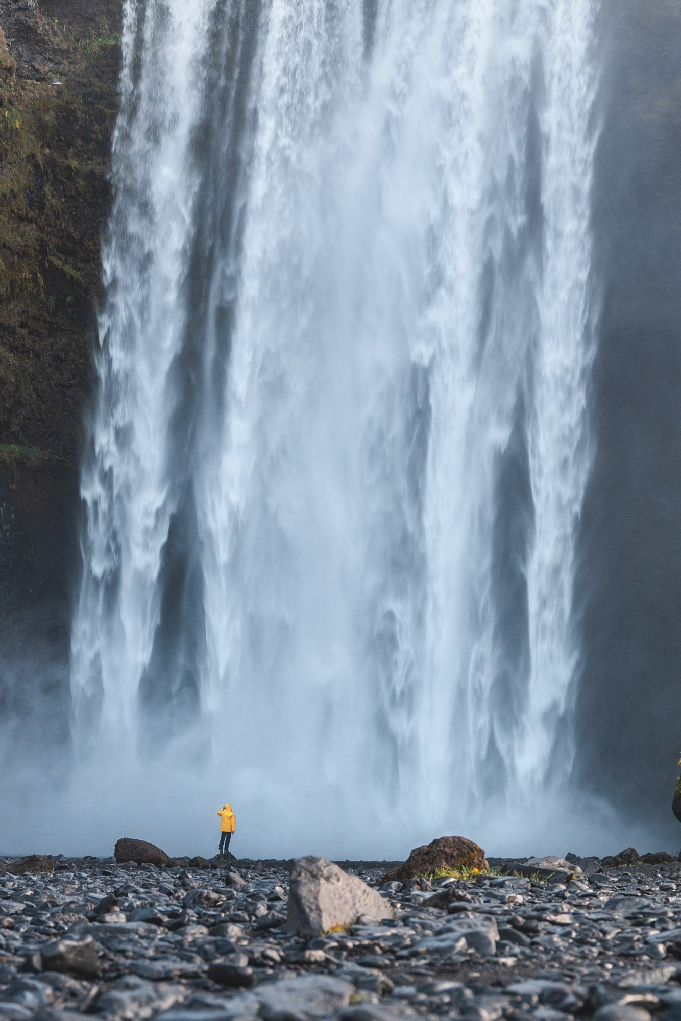 Cascada gigante Islandia - Linzex