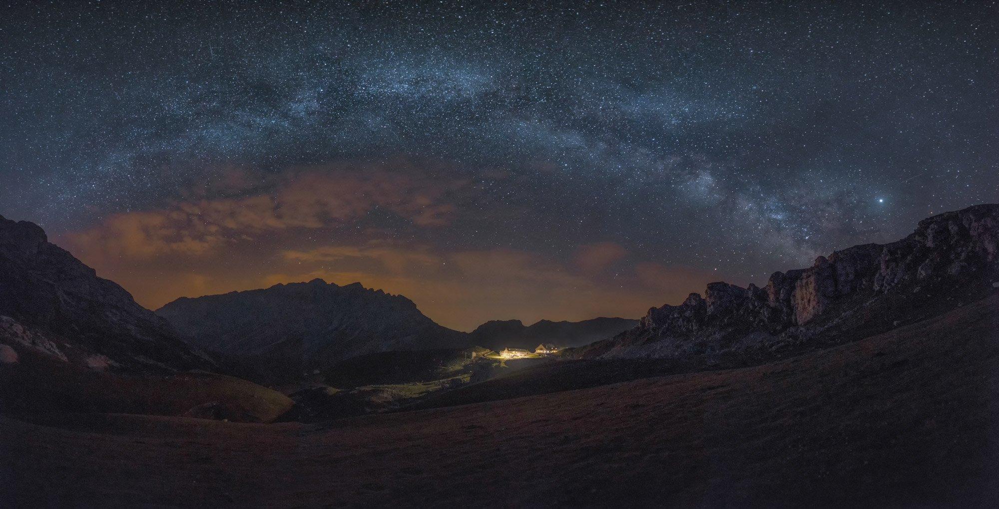 Via Lactea Nocturna - Linzex