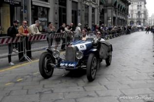 Luigi Carlini, Raymond Jennings - BUGATTI T 35 A 1925