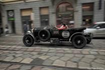 Katarina Kyvalova, Knud Sassmanshausen - BENTLEY 4,5 LITRE OPEN TOURER 1928