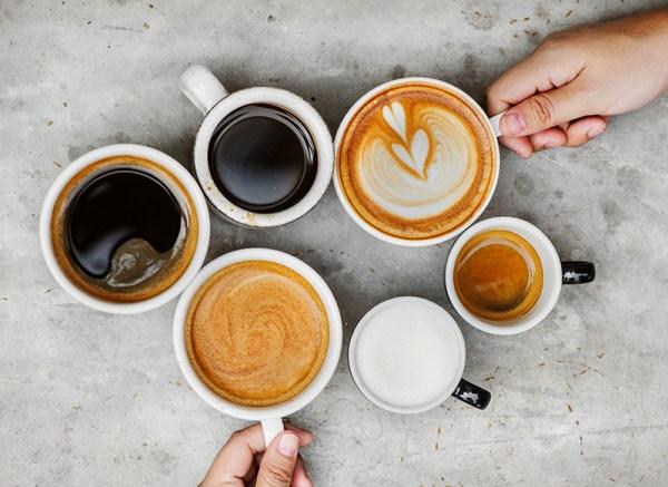 fotografia di vari tipi di caffè come fotografare bevande