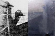 prima fotografia della storia
